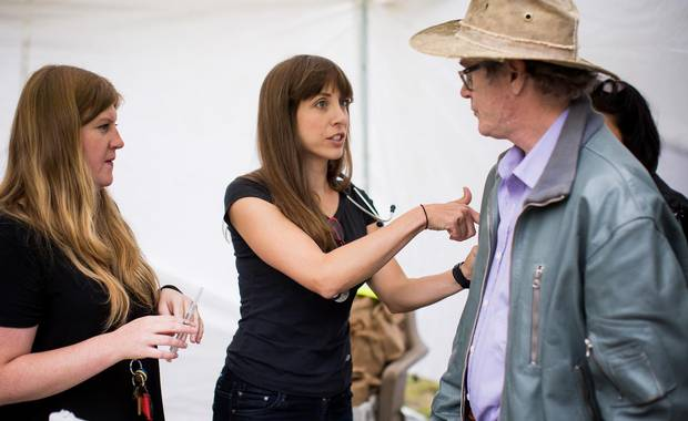 N urse Sarah Foster and Dr. Alana Hirsh explain to residents of Vancouver's Downtown Eastside how to use a Naloxone injection kit during a overdose awareness program on August 31, 2016.