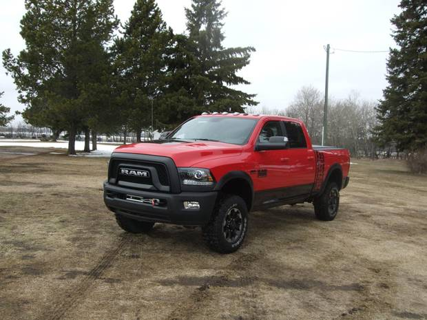 The Power Wagon tips the scales at a breathtaking 3,311 kilograms..