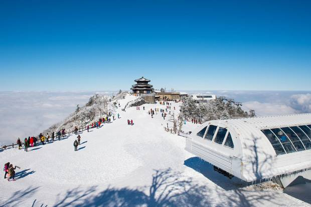 Pyeongchang is one of the ski capitals of Asia.