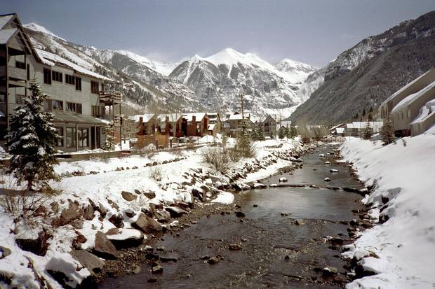 The dramatic setting and storied history of Telluride, Colorado, speak even louder than its celebrity-studded present.