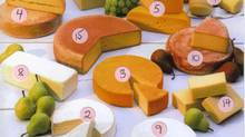 Gort's Gouda old (No. 5) was a category winner in the 4th Canadian Cheese Grand Prix in 2004. (HO/CP)