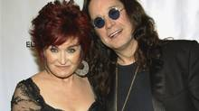 Sharon and Ozzy Osbourne (Evan Agostini/AP)