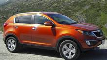 2011 Kia Sportage (Ted Laturnus for The Globe and Mail)