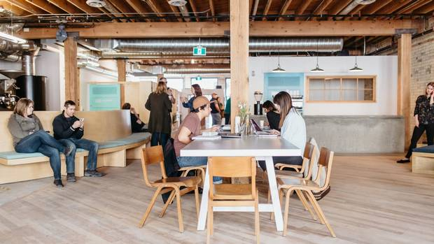 Forth is a café, cocktail bar, restaurant, gift shop, rooftop event space and co-working office