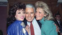 Dynasty stars Joan Collins, left, the late John Forsythe and Linda Evans in 1986 when the TV show was making shoulder pads fashionable. Building a well-structured portfolio is a lot like building a clothing wardrobe. The trick is to focus on buying investments that will stand the test of time. (Reed Saxon/Associated Press)