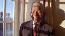 Nelson Mandela, photographed in Oslo in 1993. (AP Photo/NTB,Lise Aaserud)