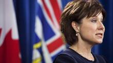 B.C. Premier Christy Clark's emphasis on skills training is helping her find common ground with some of the province's unions. (Rafal Gerszak For The Globe and Mail)