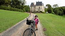 One of best hotels on our bike tour is the Château de Brou in the Loire Valley of France. (Karan Smith for The Globe and Mail/Karan Smith for The Globe and Mail)