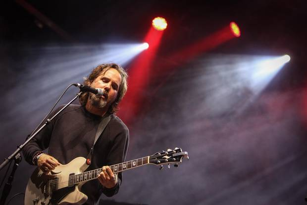 Kevin Drew performs with Broken Social Scene during Field Trip music festival at Historical Fork York on June 3.
