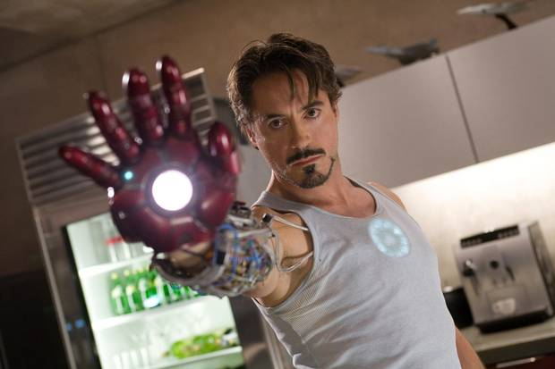 Robert Downey, Jr. stars as Tony Stark aka Iron Man.