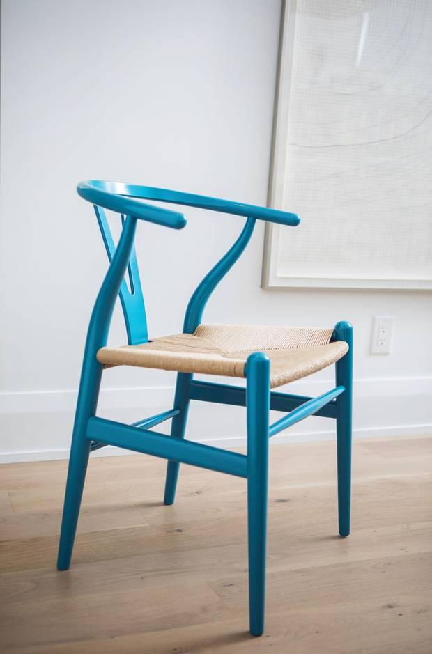 Carl Hansen's Wishbone Chair.