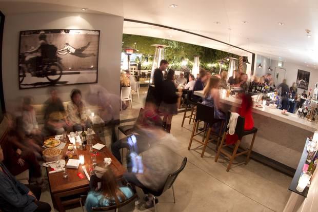 Birba restaurant is part of Palm Springs' bustling dining scene.