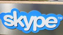 Exterior view of Skype offices in Palo Alto, Calif., after a news conference Tuesday, May 10, 2011 to announce Microsoft's acquisition of Skype. (Paul Sakuma/AP)