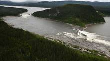 The Muskrat Falls hydroelectric project would bring power from Muskrat Falls to the island of Newfoundland and on to Nova Scotia. (PAUL DALY/THE GLOBE AND MAIL)