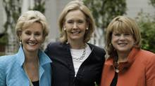 Jill Flynn, Kathryn Heath and Mary Davis Holt, co-authors of Break Your Own Rules. (Jossey-Bass)