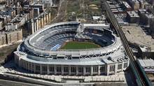 Aerial photo shows the new Yankee Stadium in New York April 12, 2009. (David Margolis / Reuters/David Margolis / Reuters)