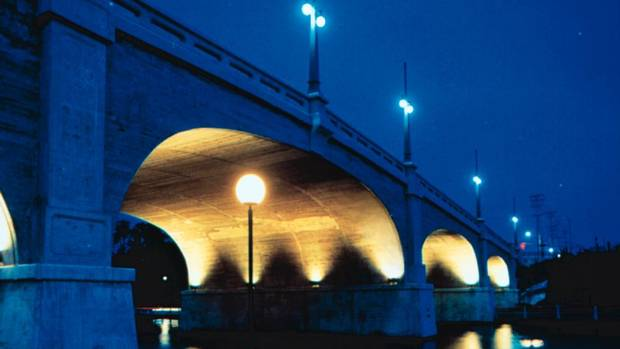 The Bank Street Bridge in Ottawa (1993).
