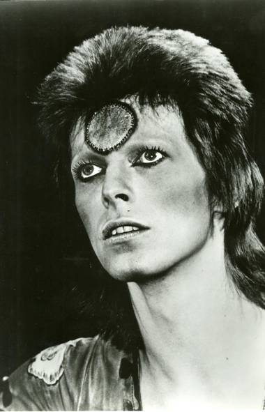 """Davie Bowie in the 1972 Miramax Films release """"Ziggy Stardust And The Spiders From Mars"""". (Handout)"""