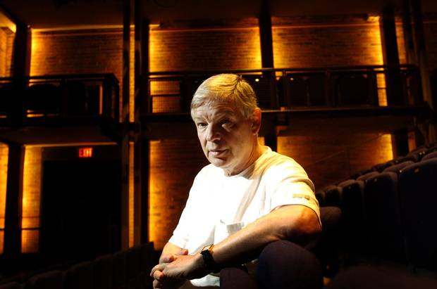 Director Laszlo Marton at the Harbourfront Centre Theatre in Toronto on July 18, 2005.