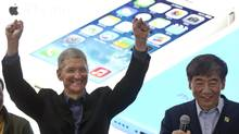Ford follows a number of corporations, including Home Depot, Cisco and Dell, which have switched away from Blackberry over the past few years. (Alexander F. Yuan/AP)