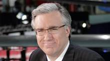 In this May 3, 2007 file photo, Keith Olbermann of MSNBC poses at the Ronald Reagan Library in Simi Valley, Calif. (Mark J. Terrill/The Associated Press)