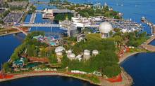 An aerial view of Ontario Place in Toronto. (CNW Group/Ontario Place/CNW Group/Ontario Place)