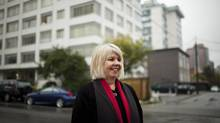 City councillor Adriane Carr is holding a news conference Tuesday to continue her battle with city manager Penny Ballem. (Rafal Gerszak for The Globe and Mail)