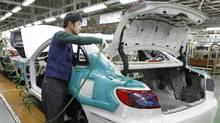 Hyundai's plant in Asan, south of Seoul, is evidence of the growing consumer market in developing nations.