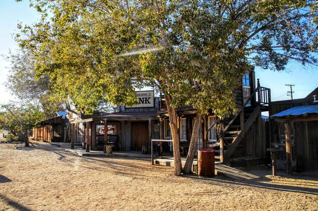 Pioneertown in Yucca Valley once served as a backdrop for Hollywood westerns: Roy Rogers, Dale Evans and Gene Autry made movies here.