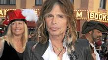 Singer Steven Tyler arrives at the world premiere of Pirates Of The Caribbean: On Stranger Tides at Disneyland on May 7, 2011 in Anaheim, California. (Barry King/Barry King/FilmMagic)