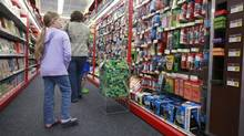 The Canadian operations of Staples is using customer data to adjust the mix of its products. 'If we can give shoppers what they want, they're going to be more loyal,' says Rick Atkinson, vice-president of marketing for Staples Canada. (Paul Sakuma/The Associated Press)
