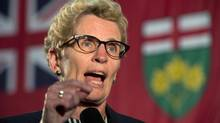 Ontario Premier Kathleen Wynne, shown in Oakville recently. (Frank Gunn/THE CANADIAN PRESS)