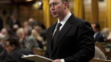 Conservative MP Rob Anders in the House of Commons in Ottawa, Wednesday September 26, 2012. (Adrian Wyld/The Canadian Press)