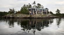 Designer and architect Dee Dee Taylor Eustace has completed her family's cottage on an island in Stoney Lake, north of Peterborough. (Yvonne Berg)