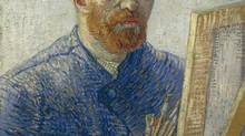 Vincent van Gogh Self-portrait as an Artist, January, 1888. (Vincent van Gogh Foundation)