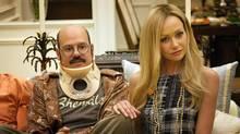 David Cross and Portia de Rossi in Season 4 of Arrested Development. (Sam Urdank/AP)