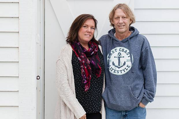 Janet Denstedt and Richard Wharton have built a vacation-rental business around Newfoundland saltbox houses they've renovated.