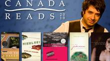 From the Canada Reads website: Host Jian Ghomeshi with this year's all-fiction-all-the-time lineup.