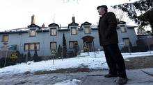 Ward 21 City Councillor Joe Mihevc stands outside 7 Austin Terrace in Toronto, Ontario, Canada. (Deborah Baic/The Globe and Mail/Deborah Baic/The Globe and Mail)