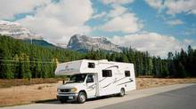 Class C motorhomes are fully enclosed units with access from the cockpit to the living quarters and are usually built on a full-size pickup truck chassis. (Ted Laturnus for The Globe and Mail/Ted Laturnus for The Globe and Mail)