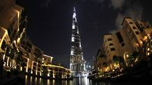 A general view of the Burj Dubai, the world's tallest building (David Cannon/2009 Getty Images)