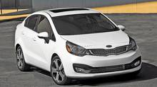 2012 Kia Rio Sedan (Mike Ditz/Kia)