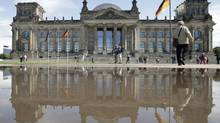 The Reichstag building, seat of the German lower house of parliament Bundestag, is pictured before a session in Berlin on July 19, 2012. (TOBIAS SCHWARZ/REUTERS)