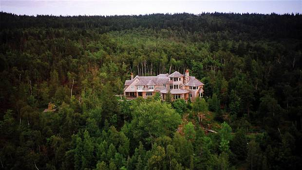 Kenneth Irving's $2-million home in New Brunswick was donated to serve as a national centre to protect Canadian waterways. Read Paul Waldie's 2013 story about that donation here.
