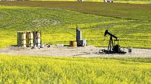 An oil field pumpjack owned by Daylight Energy: Ottawa approved Sinopec's acquisition of Daylight in December. It has promising assets, but no production. (Larry MacDougal for The Globe and Mail/Larry MacDougal for The Globe and Mail)