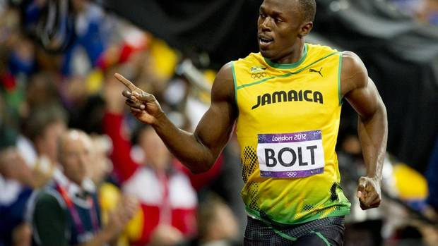 The most watched event for the television consortium of Bell and Rogers was the men's 100-metre final with 6.5 million Canadians tuning in as Jamaica's Usain Bolt ran to his second consecutive Olympic gold medal in that event on Aug. 5. (Kevin Van Paassen/The Globe and Mail)