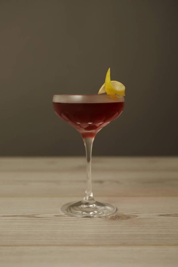 Seedily Spice Raspberry Martini.