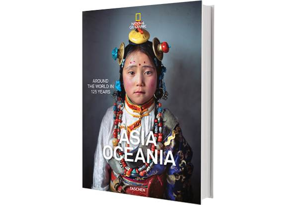 National Geographic Around the World in 125 Years: Asia & Oceania, National Geographic Around the World in 125 Years Europe (Taschen, available Nov. 30), $69.99 (U.S.) each.