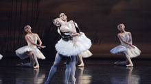 Heather Ogden and Guillaume Côté in Swan Lake. (David Cooper)