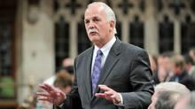 Public Safety Vic Toews speaks during Question Period in the House of Commons on March 5, 2012. (Sean Kilpatrick/Sean Kilpatrick/The Canadian Press)